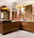 Люстры в стиле лофт для кухни