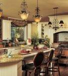 Стиль кантри в кухне