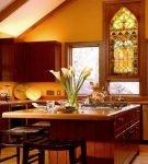 Кухня в романском стиле