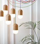 Подвесные светильники для стиля эко