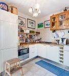 Маленькая кухня в стиле эклектика
