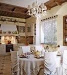 Кухня в русском стиле