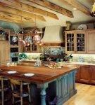 Деревенский кухонный стиль