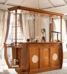 Барная стойка для кухни в морском стиле