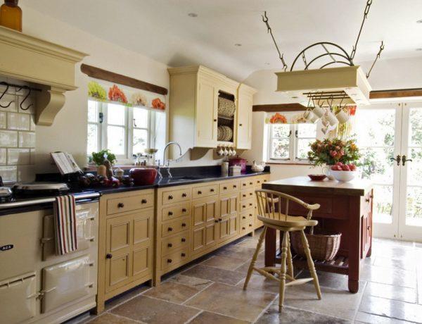 Подвесной потолок для шебби-кухни