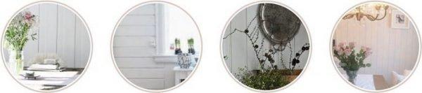 Виды панелей для для обшивки стен
