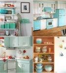 Варианты декора для кухни в стиле ретро
