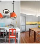 Яркие детали для кухни в стиле ретро