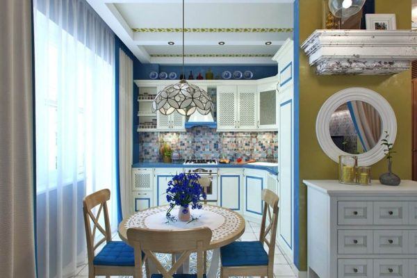 Яркие детали кухни в средиземноморском стиле