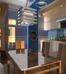 Стильная кухня в морской тематике