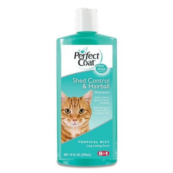 8in1 Perfect Coat SHED CONTROL & HAIRBALL SHAMPOO