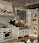 Уютная кухня прованского дизайна