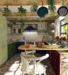 Необычный декор кухни прованс