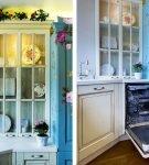 Яркий декор на маленькой кухне
