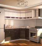 Гарнитур белой кухни