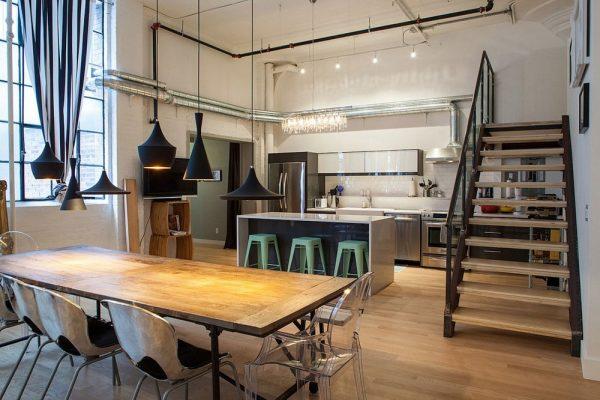 Мебель для кухни лофт