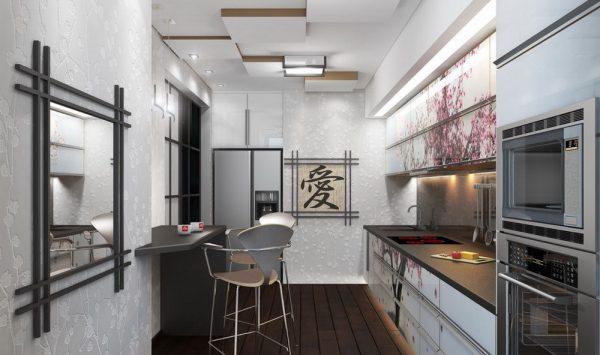 Обилие техники в японской кухне