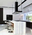 Хай-тек в кухонном интерьере