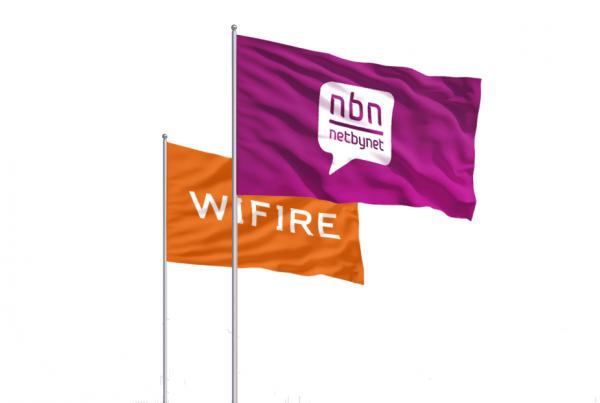 Флаги компании NetByNet