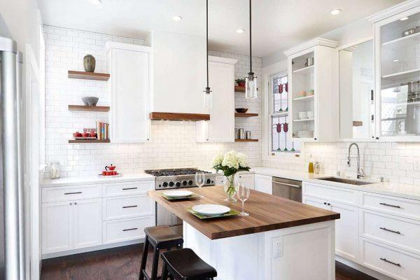 Мебель для белой кухни