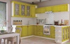 Кухонный гарнитур с патиной