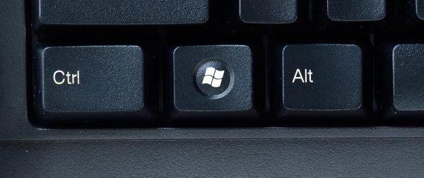 Кнопка «Пуск» на клавиатуре