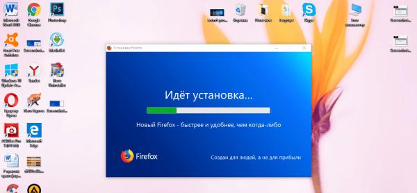 Установка Mozilla Firefox