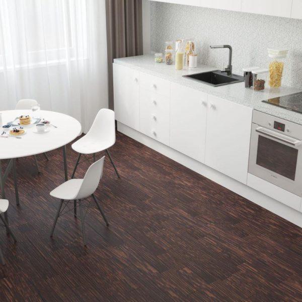 ПВХ-плитка на кухне