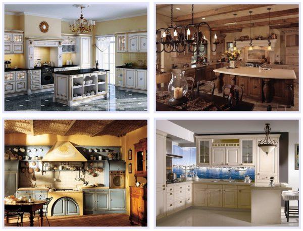 Примеры кухонных интерьеров в итальянском стиле