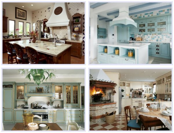 Обустройство кухонного очага