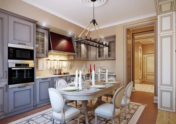 Цветовая палитра в кухонном интерьере