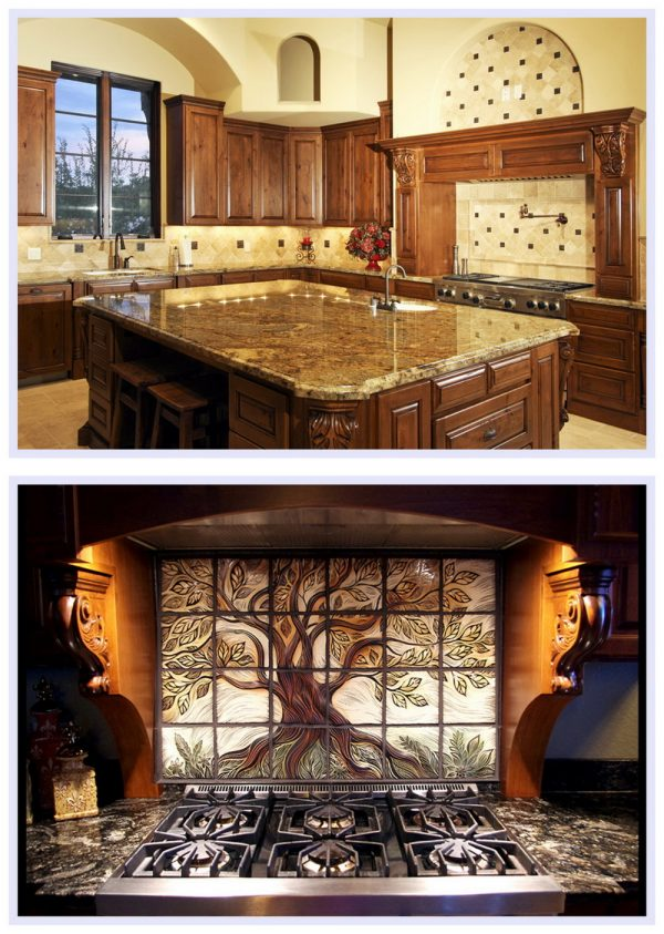 Столешница и кухонный фартук