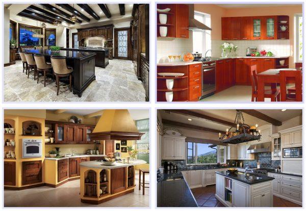 Цветовые сочетания в кухонном интерьере