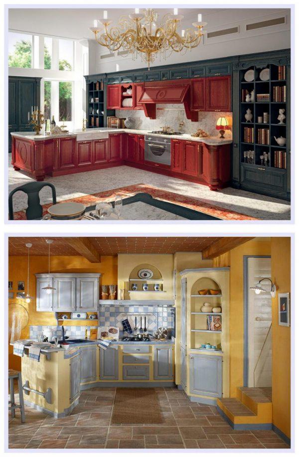 Кухонный гарнитур в итальянском стиле