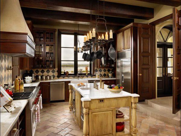 Декор кухни в итальянском стиле