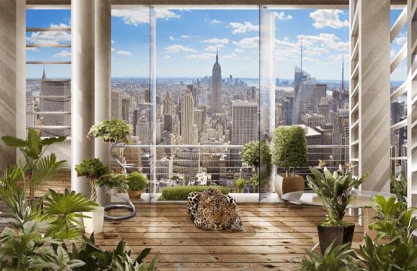 Фотообои флизелиновые Milan «Утро в Нью-Йорке»