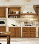 Простое оформление кухни по-итальянски
