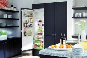 Встроенный холодильник