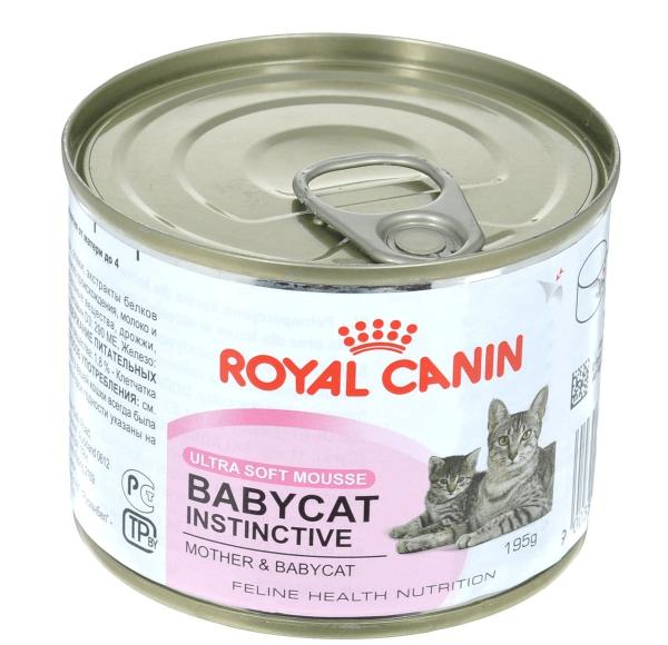 Банка паштета Babycat