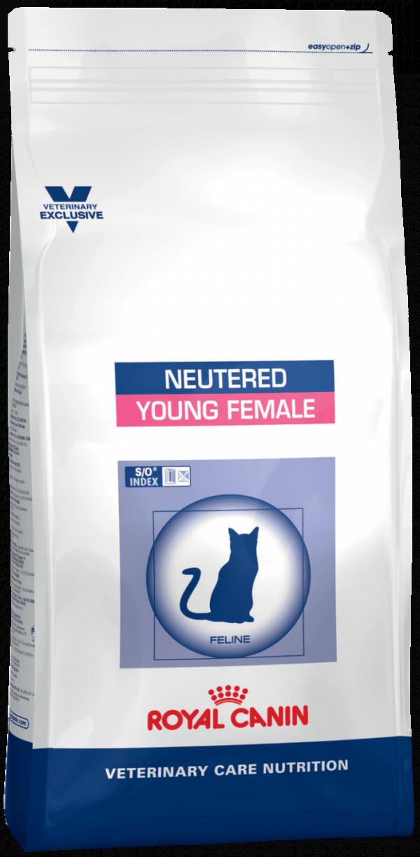 Упаковка сухого корма Neutered Young Female