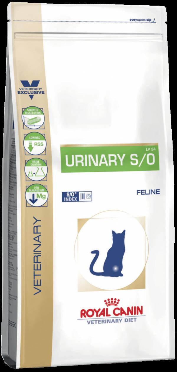 Корм Urinary S/O LP34