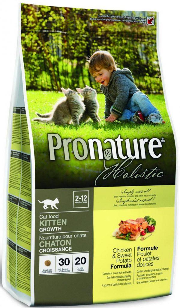 Корм Pronature Holistic для котят