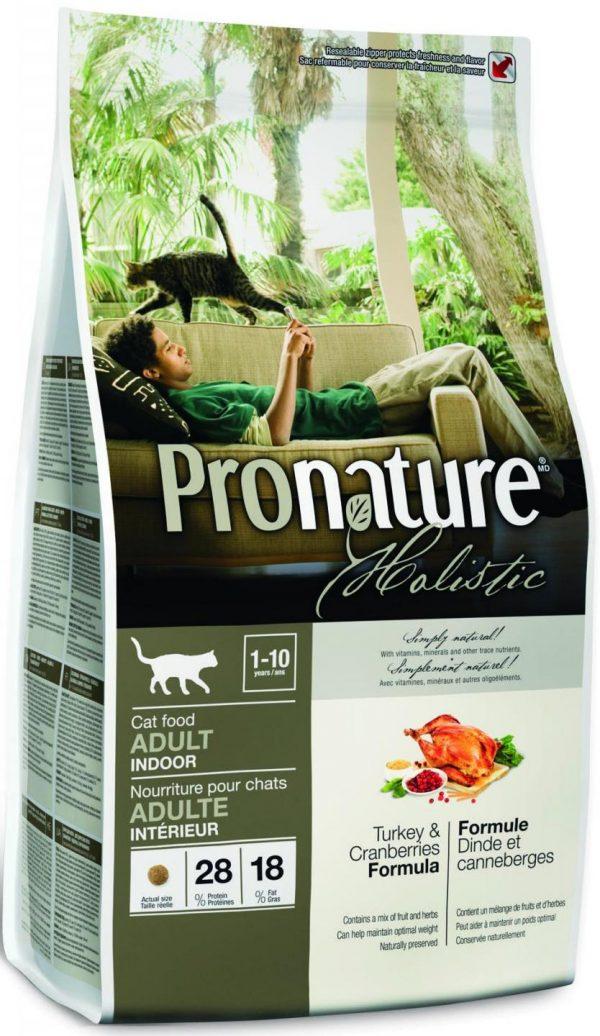 Сухой корм Pronature Holistic с клюквой
