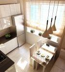Спальное место на кухне для гостей