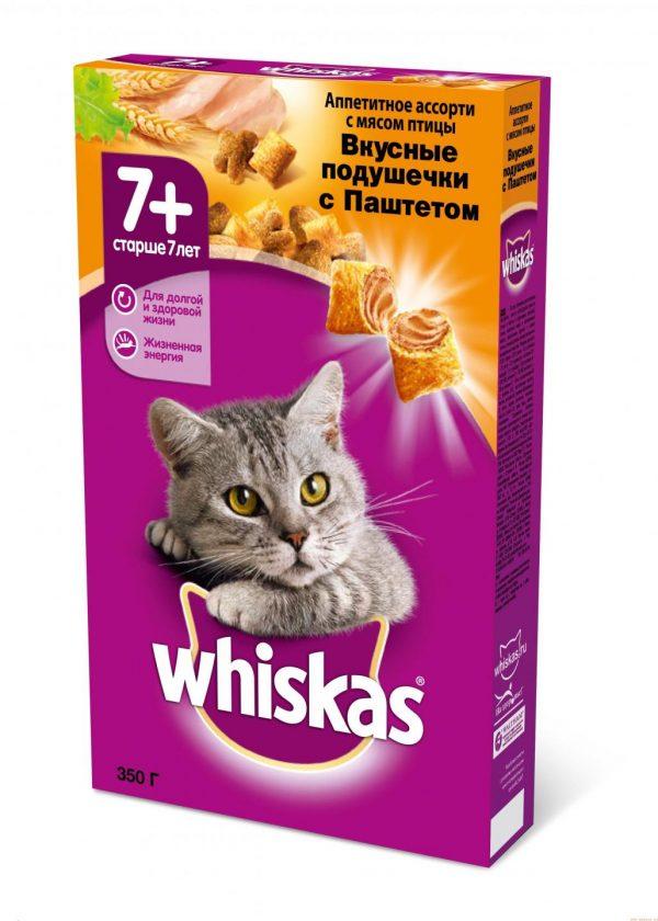 Сухой корм «Вискас» для пожилых кошек