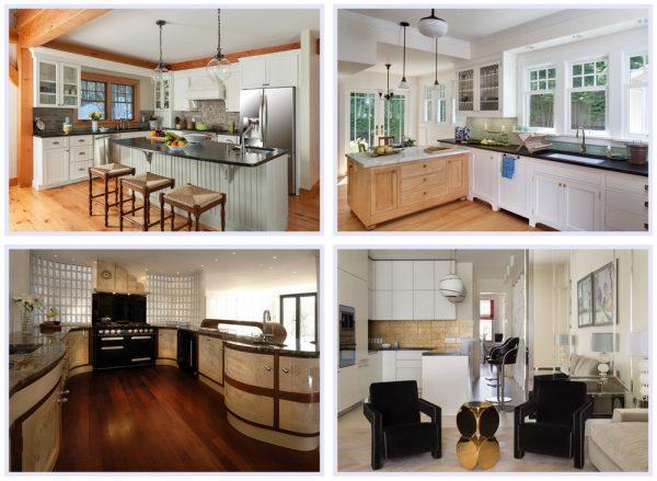 Примеры мебели для кухни ар-деко