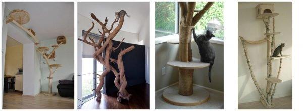 Деревья для кошки