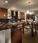 Оформление кухни в дизайне ар-деко