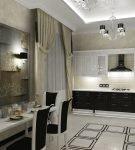 Освещение кухонного пространства