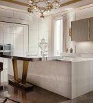Лаконичная мебель для кухни